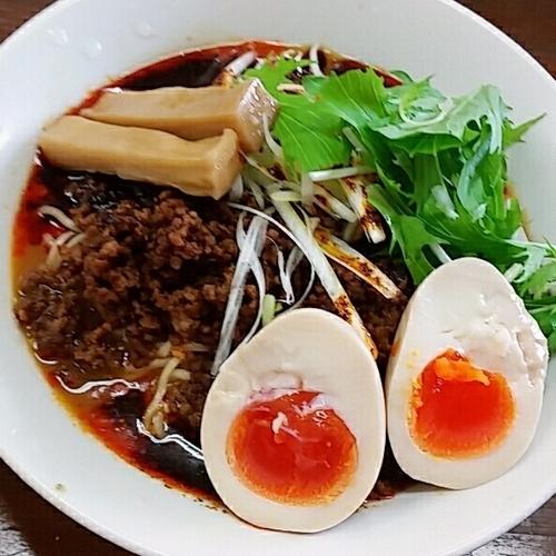 「【夏期限定】冷やし坦々麺 850円」@横浜家系ラーメン 藤家の写真