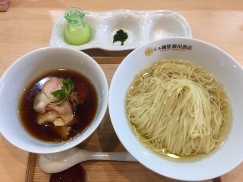 「つけ麺 (昆布鰹水出汁) ¥1000」@らぁ麺 飯田商店の写真