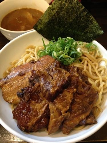 「ぶしもり 大盛り+豚軟骨+豚角煮」@ぶしもりや めんめんの写真