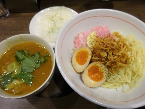 「大人のカレーつけ麺  1000円」@八咫烏の写真