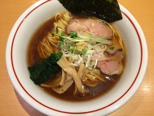「生姜醤油ラーメン ¥680」@新潟らぁ麺専門店 我武者羅の写真