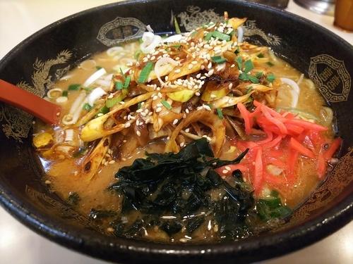 「味噌ネギラーメン(辛)」@ラーメンとん太 湯沢桜通り店の写真