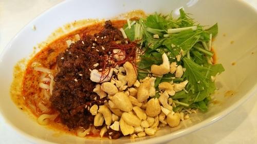 「汁なし担々麺」@四川担々麺いぶし銀の写真
