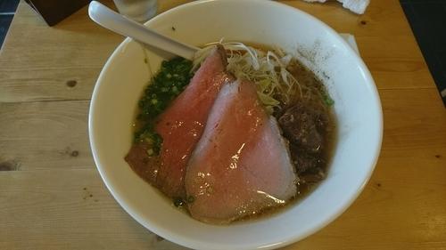 「特製牛骨麺_1000円」@麺屋 西川の写真