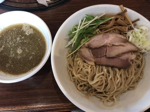 「つけ麺煮干し800円」@拉麺 芳の写真