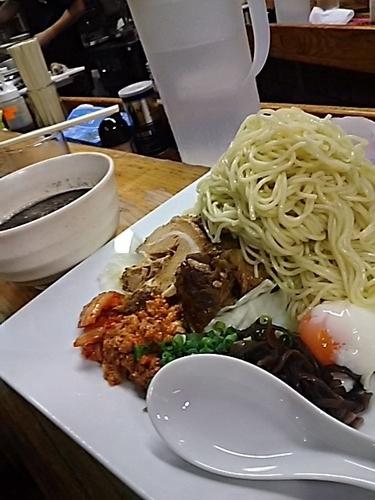 「黒つけ麺」@熊本らーめん 育元の写真