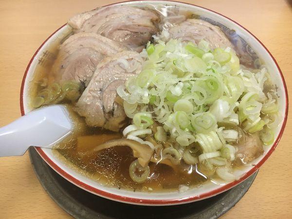 「チャーシュー麺 ネギ 柔らかめ」@森田屋 東店の写真