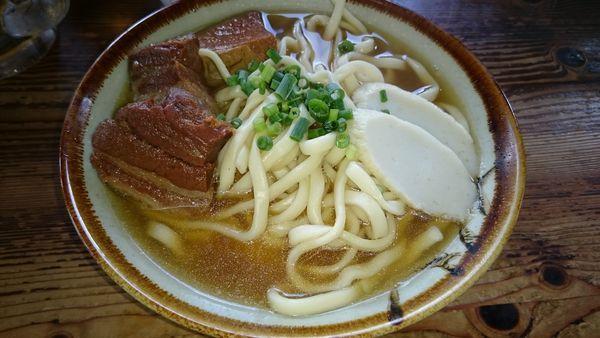 「岸本そば(大) ¥650」@きしもと食堂 八重岳店の写真