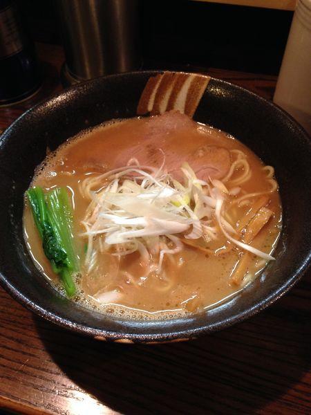 「秋刀魚拉麺」@拉麺 阿吽の写真