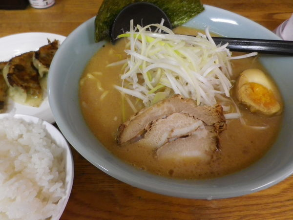 「ラーメンセット」@小月家 北海道本場味噌らーめんの写真