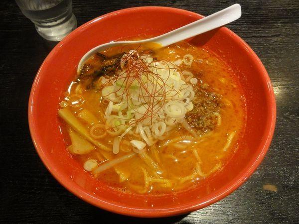 「激辛タンタン麺」@麺家いろは 京都駅ビル店の写真