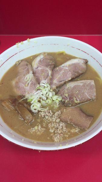 「味噌チャーシュー麺」@札幌焼き味噌ラーメン みずきの写真