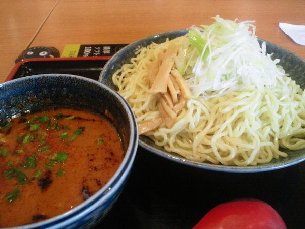 「シビカラ味噌つけ麺2玉(辛さ、シビレ鬼増し)810円」@大志軒 福島泉店の写真