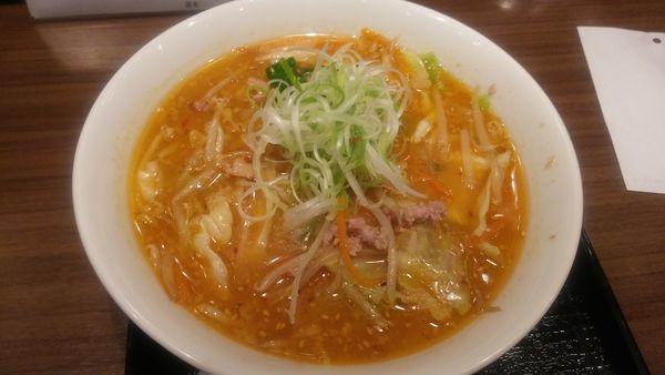 「味噌拉麺」@けやき 新千歳空港店の写真
