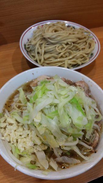 「シークワーサーつけ麺(限定)」@ラーメン二郎 八王子野猿街道店2の写真