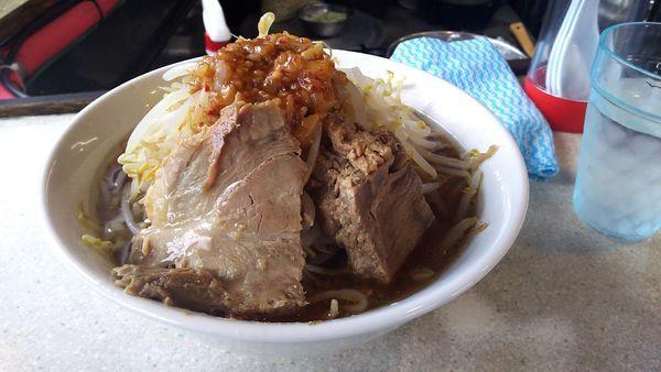 「ラーメン(そのまま)」@東京肉菜館の写真
