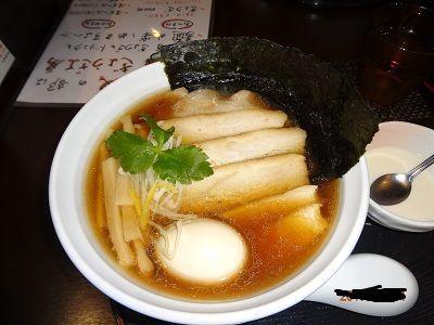 「煮干し中華そば」@長野らぁ麺 さくら木の写真