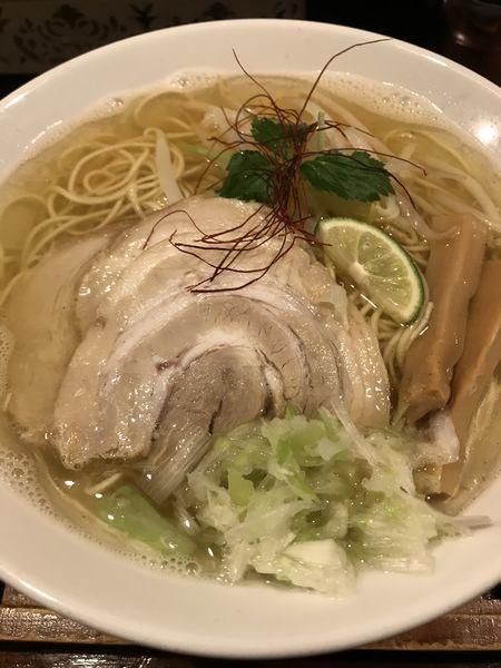 「煮干塩ラーメン」@麺舎 ヒゲイヌの写真