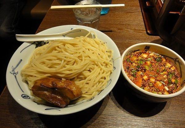 「辛つけ麺 880円 麺600グラム」@麺屋武蔵 蒲田店の写真
