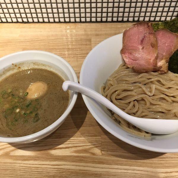 「味玉煮干つけ麺(麺少な目¥900)」@らーめん 改の写真