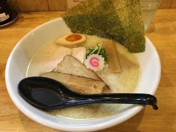 「特製とりこつ塩ラーメン」@麺処 誠信の写真