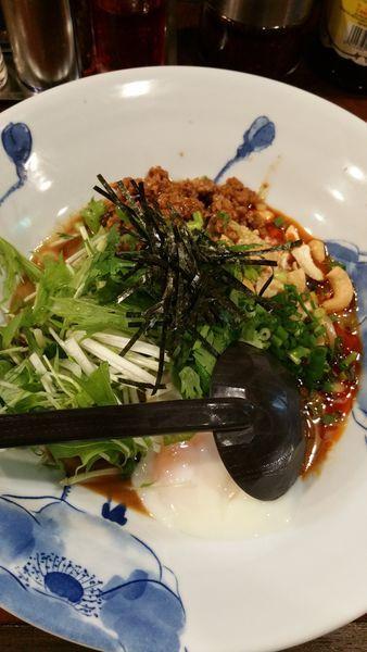 「汁なし担々麺」@龍の子 所沢店の写真
