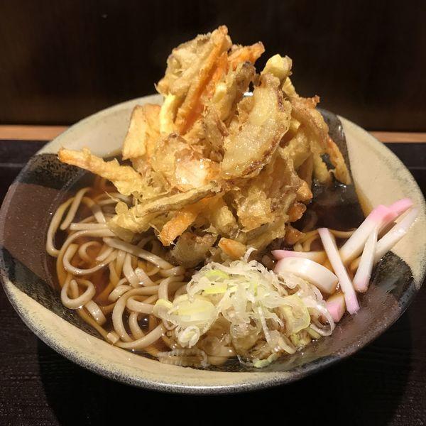 「かき揚げ天(¥430)」@十割蕎麦 さ竹の写真