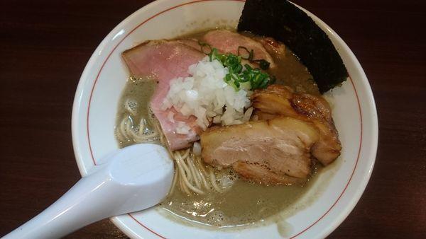 「濃厚煮干し蕎麦+チャーシュー」@零一弐三の写真