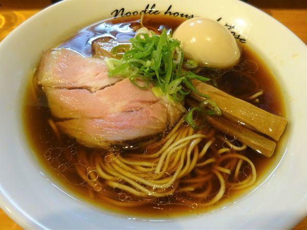 「醤油(細麺)  750円」@麺庵ちとせの写真