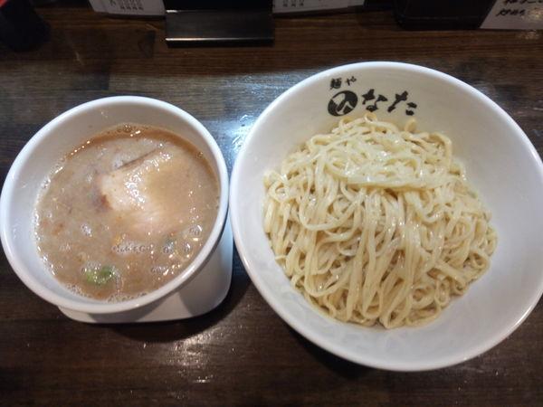 「【昼夜各5食限定】魚介鶏白湯つけ麺」@麺や ひなたの写真