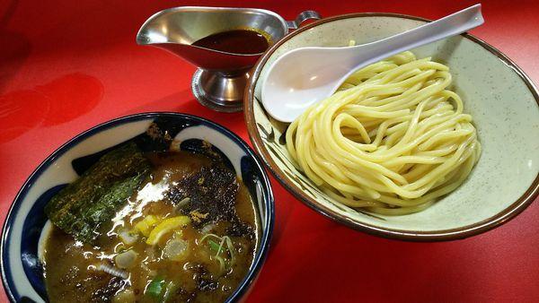 「つけ麺(カレールー付)」@つけ麺魚雷の写真