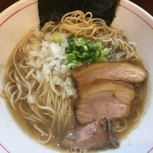 「煮干し蕎麦 750円」@零一弐三の写真