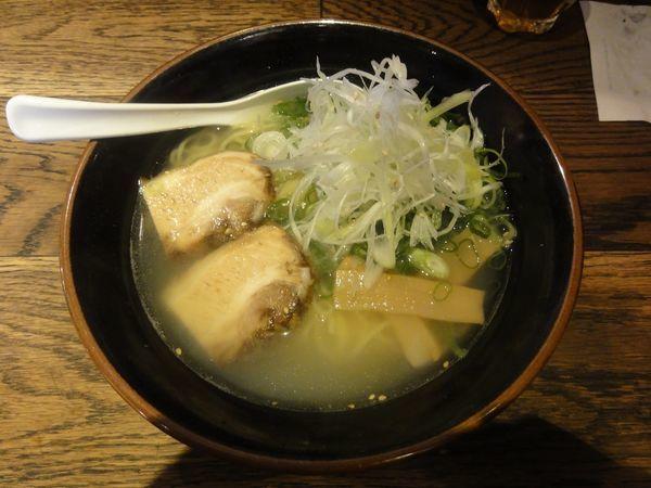 「鯛塩ラーメン(並)」@麺屋 七福神 堀川御池店の写真