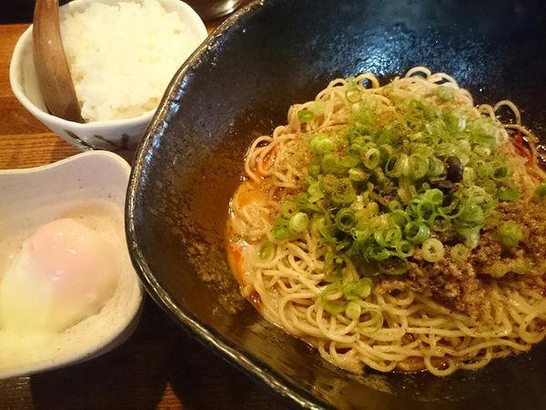 「汁なし担々麺 大盛(2辛)」@キング軒 東京店の写真