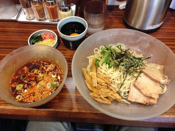 「辛口つけ麺」@麺食い 慎太郎の写真