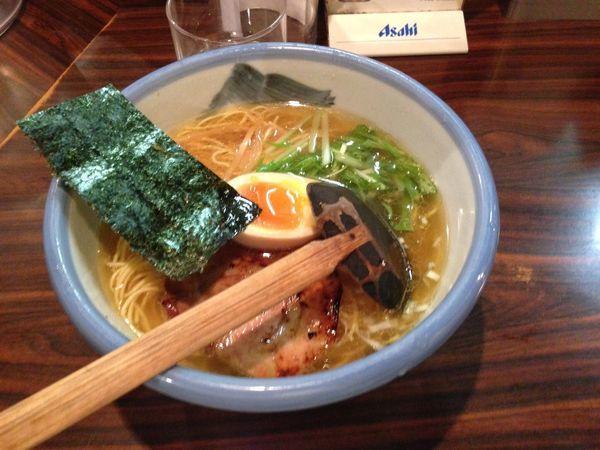 「塩ラーメン」@AFURI 恵比寿の写真