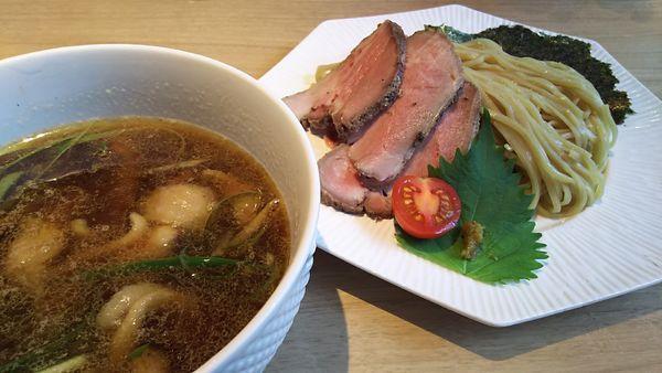 「つけ麺姫路+ひね鶏」@姫路麺哲の写真