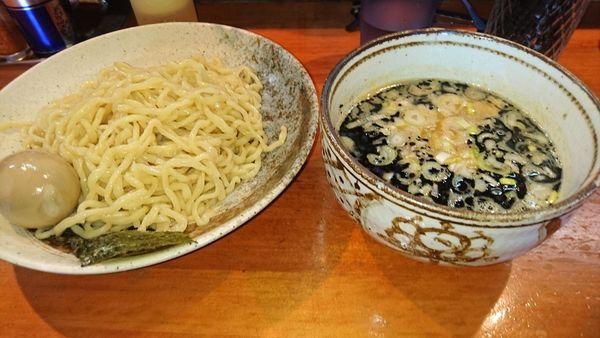 「黒つけ麺+味玉」@麺や 虎ノ道の写真
