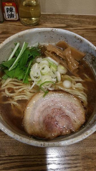 「煮干らーめん」@らーめん 縁の写真