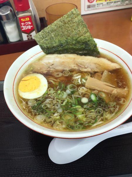 「こく旨醤油ラーメン 650円」@中央道上り内津峠PAの写真