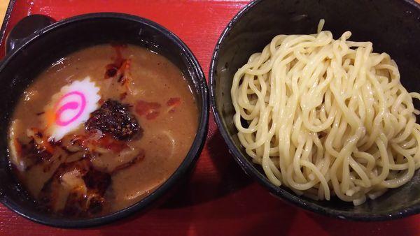 「濃厚辛つけ麺チャーシュー」@中華そばつけ麺 魚介の達人 久兵衛 取手店の写真