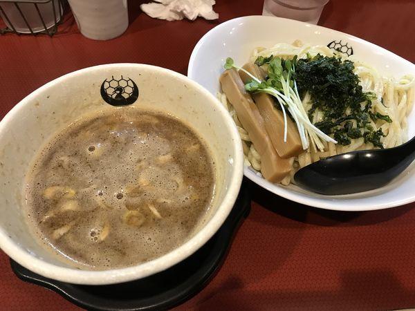「魚介醤油つけ麺」@京つけめん つるかめ六角の写真