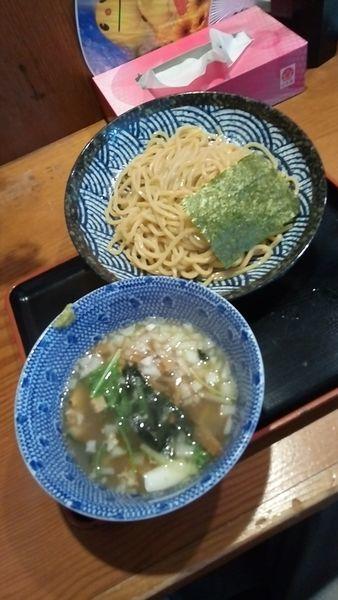 「魚介塩つけ麺850円」@汁麺屋 胡座の写真