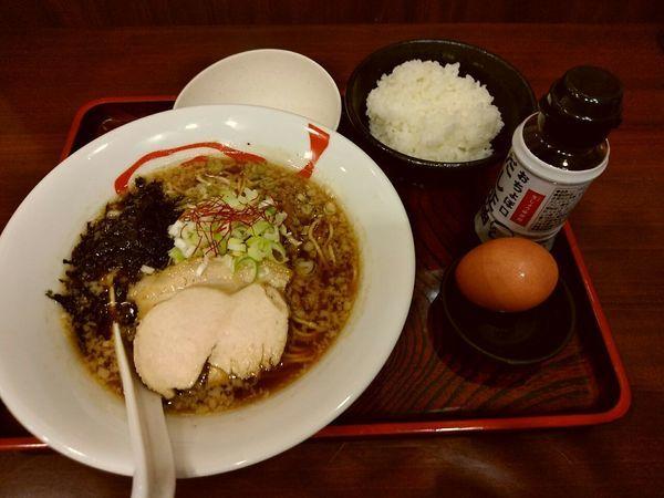 「醤油らーめん(並盛・120g)730円」@麺屋 福籠の写真