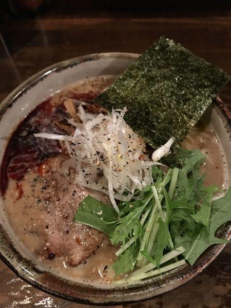 「坦々そば、大盛り」@日本橋 製麺庵 なな蓮の写真