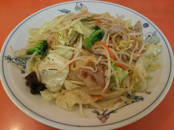 「チャーメン (麺大盛り)」@テンホウ 富士見店の写真