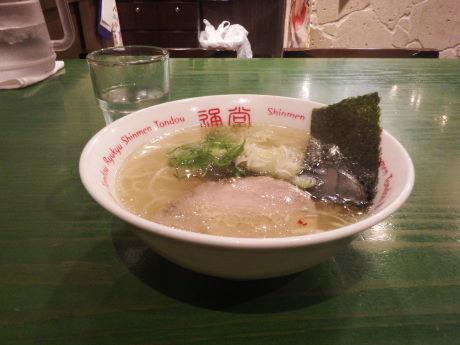 「ミニ通堂うま塩ラーメンおんな味」@琉球新麺 通堂の写真