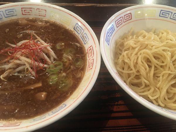 「つけ麺(大盛)」@二丁目食堂の写真