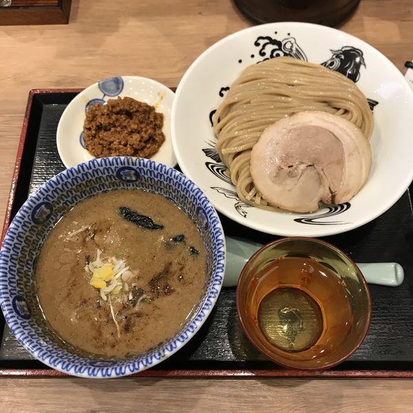 「辛味 濃厚つけ麺」@日本の中華そば富田 成田空港店の写真