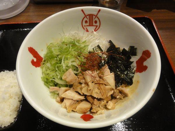 「ジャカルタ風まぜ麺」@鶏そば Ayam-YA 烏丸店の写真